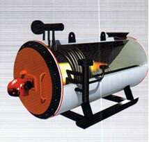 Oil fired organic heat carrier boiler